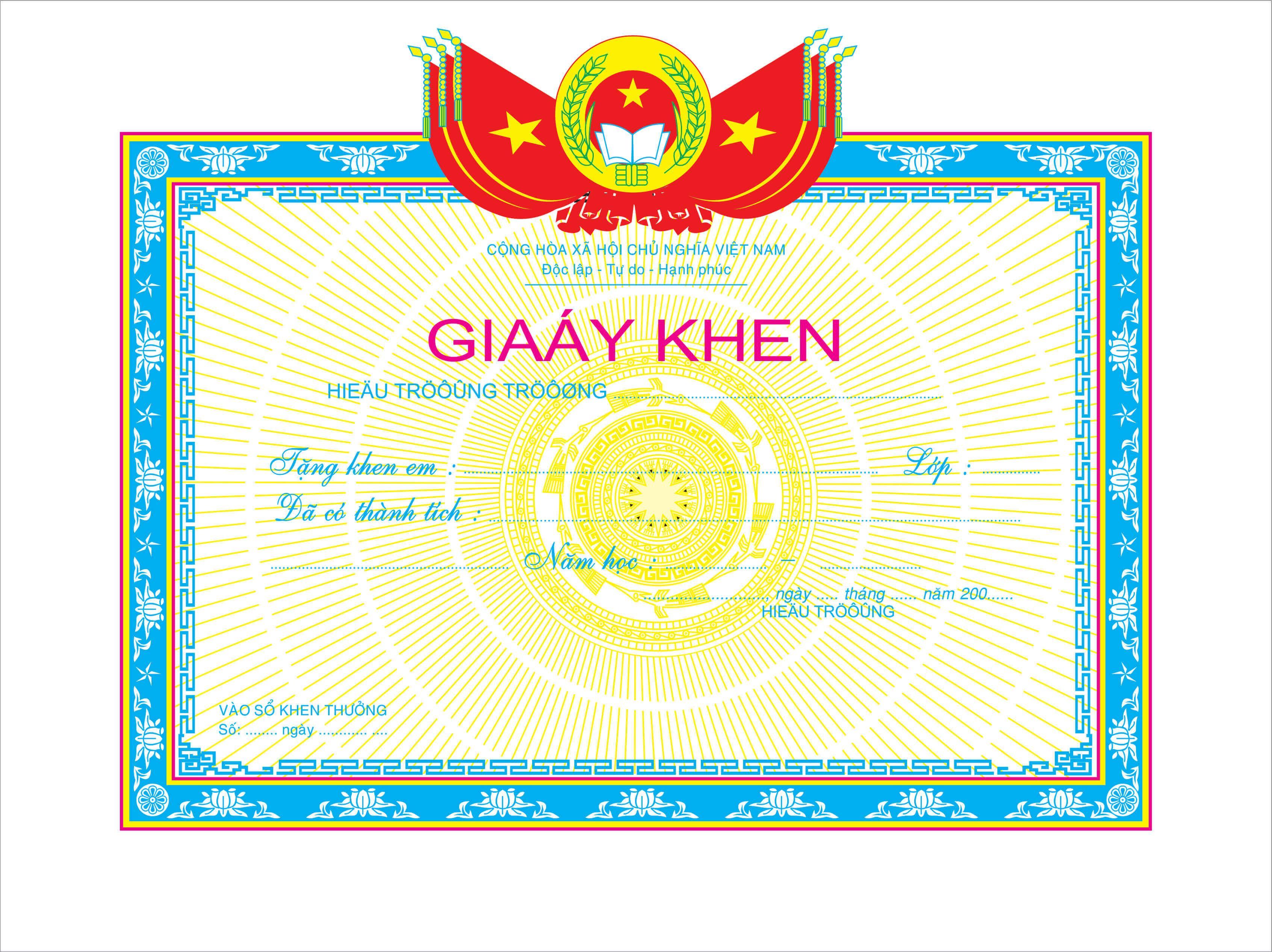Mẫu giấy khen 002 - mẫu giấy khen trường học - Link Download : https://adsnew.net/SvvGH67