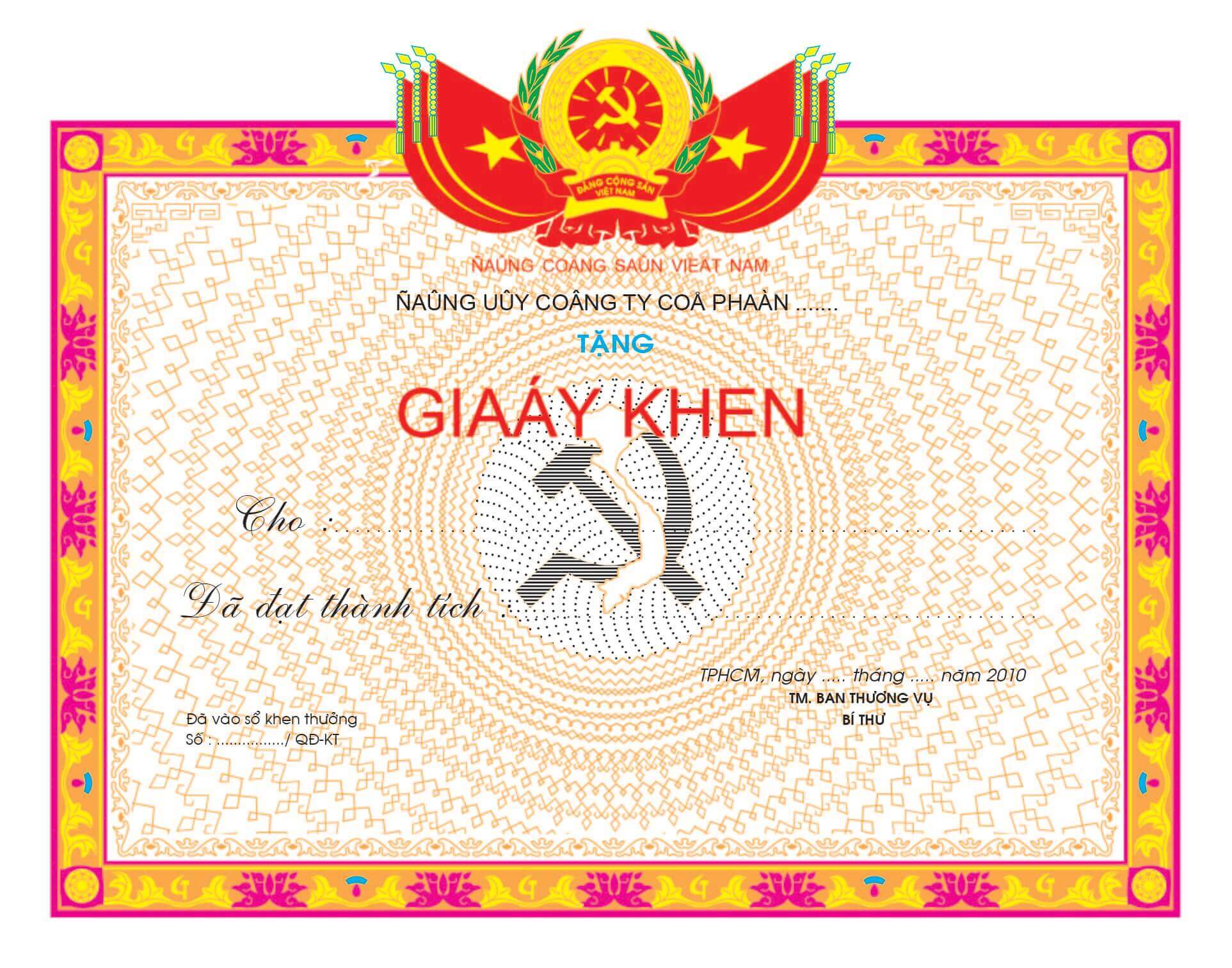 Mẫu giấy khen 004 - mẫu giấy khen Công Ty - Link Download : https://adsnew.net/LwfN