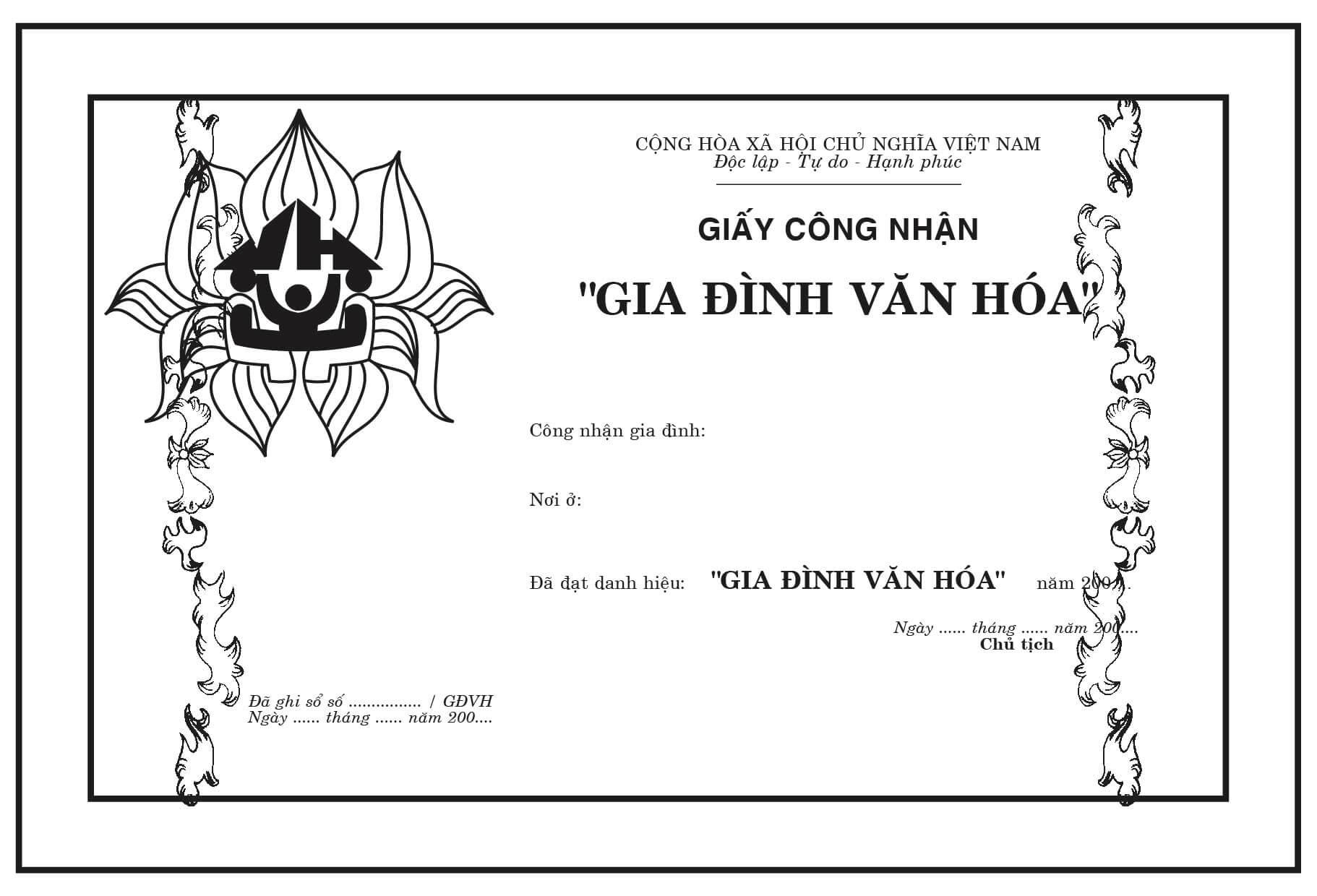 Mẫu giấy khen 027 - mẫu giấy khen gia đình văn hóa - Link Download : https://adsnew.net/tAzat