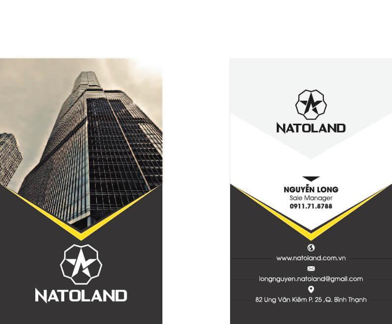 Mẫu danh thiếp - Mẫu Name Card - Mẫu thiết kế danh thiếp - Mẫu thiết kế name card 442