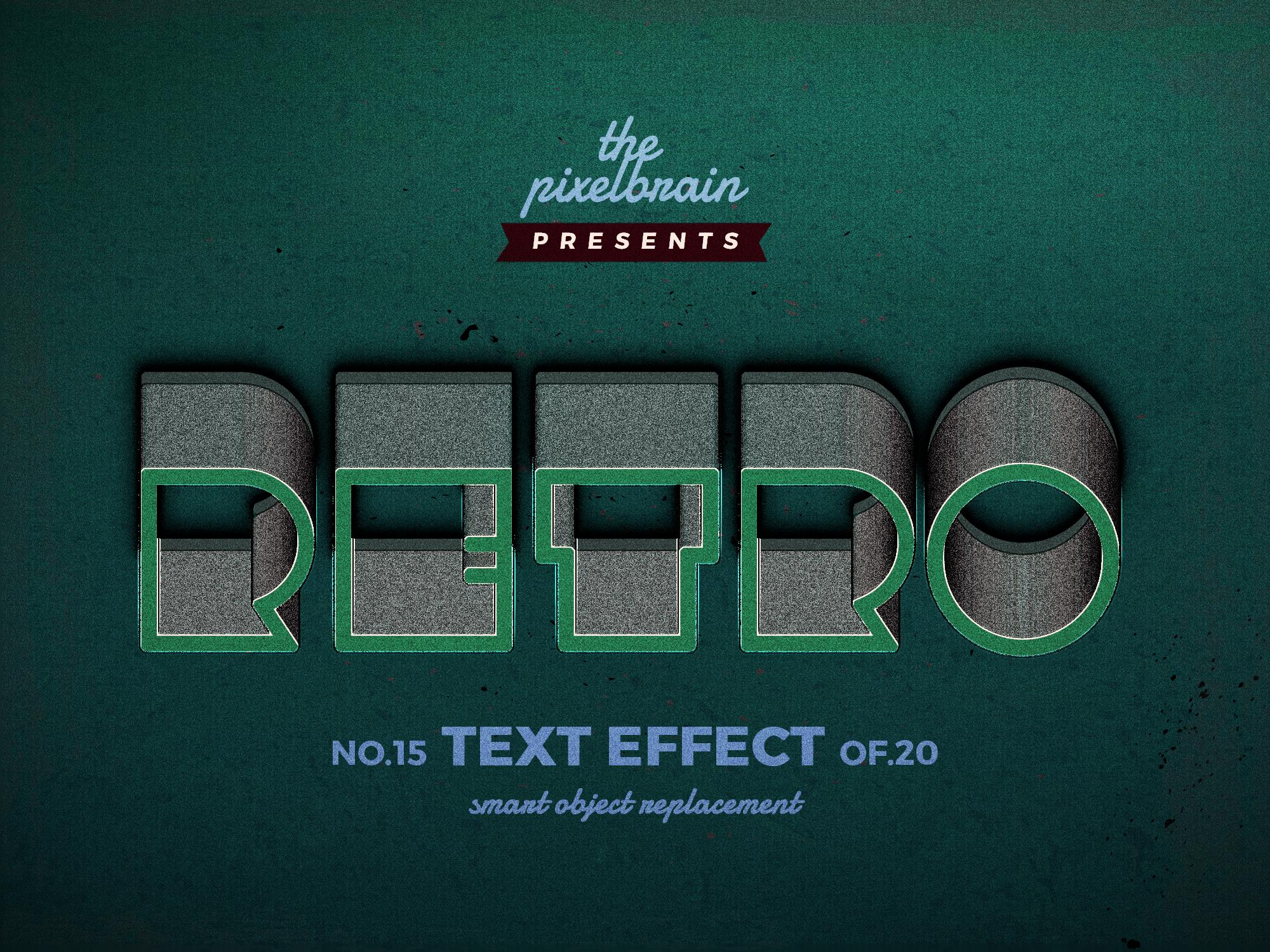 Chia sẻ bộ Retro Vintage Text Effects 5