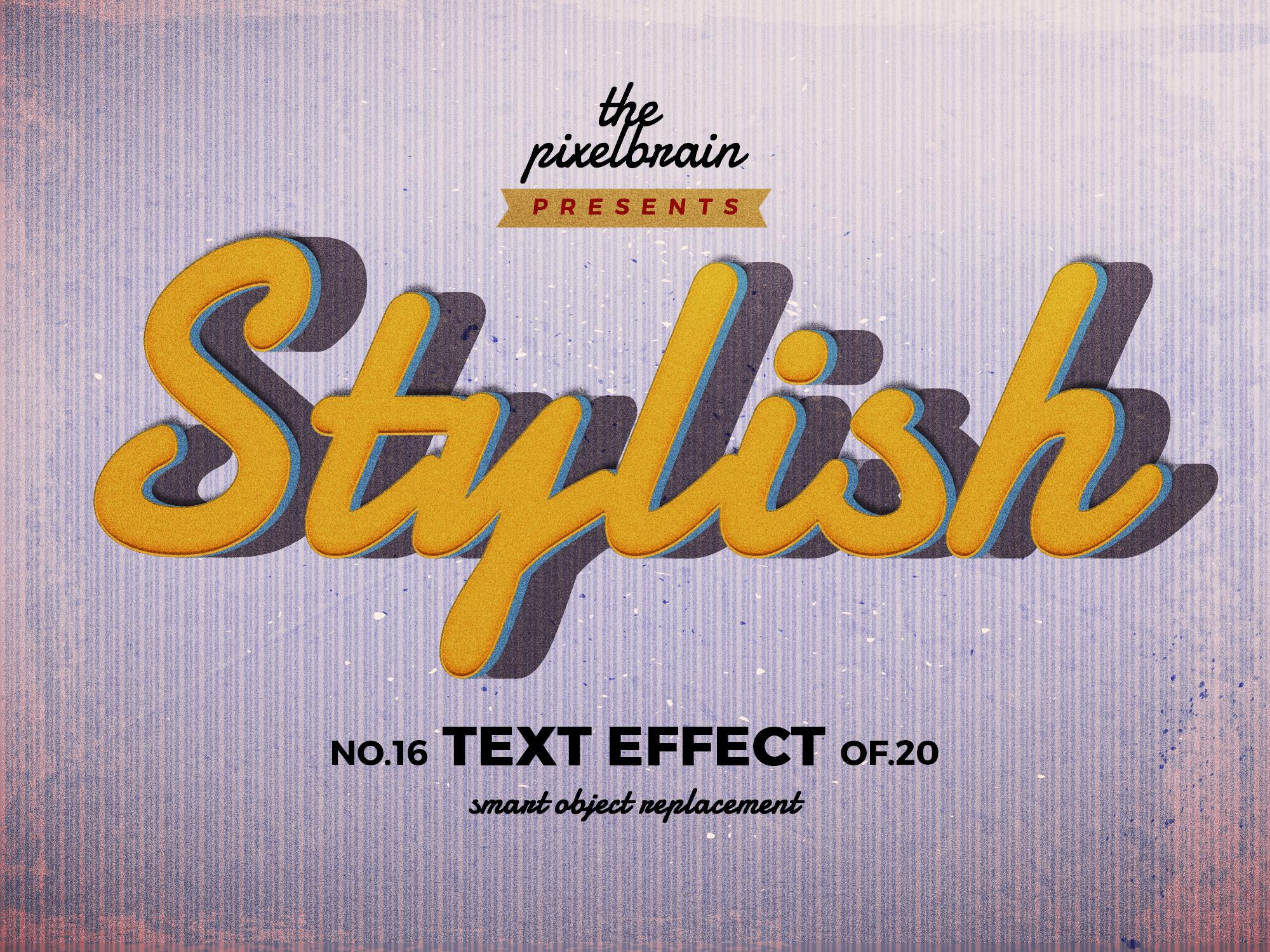 Chia sẻ bộ Retro Vintage Text Effects 6