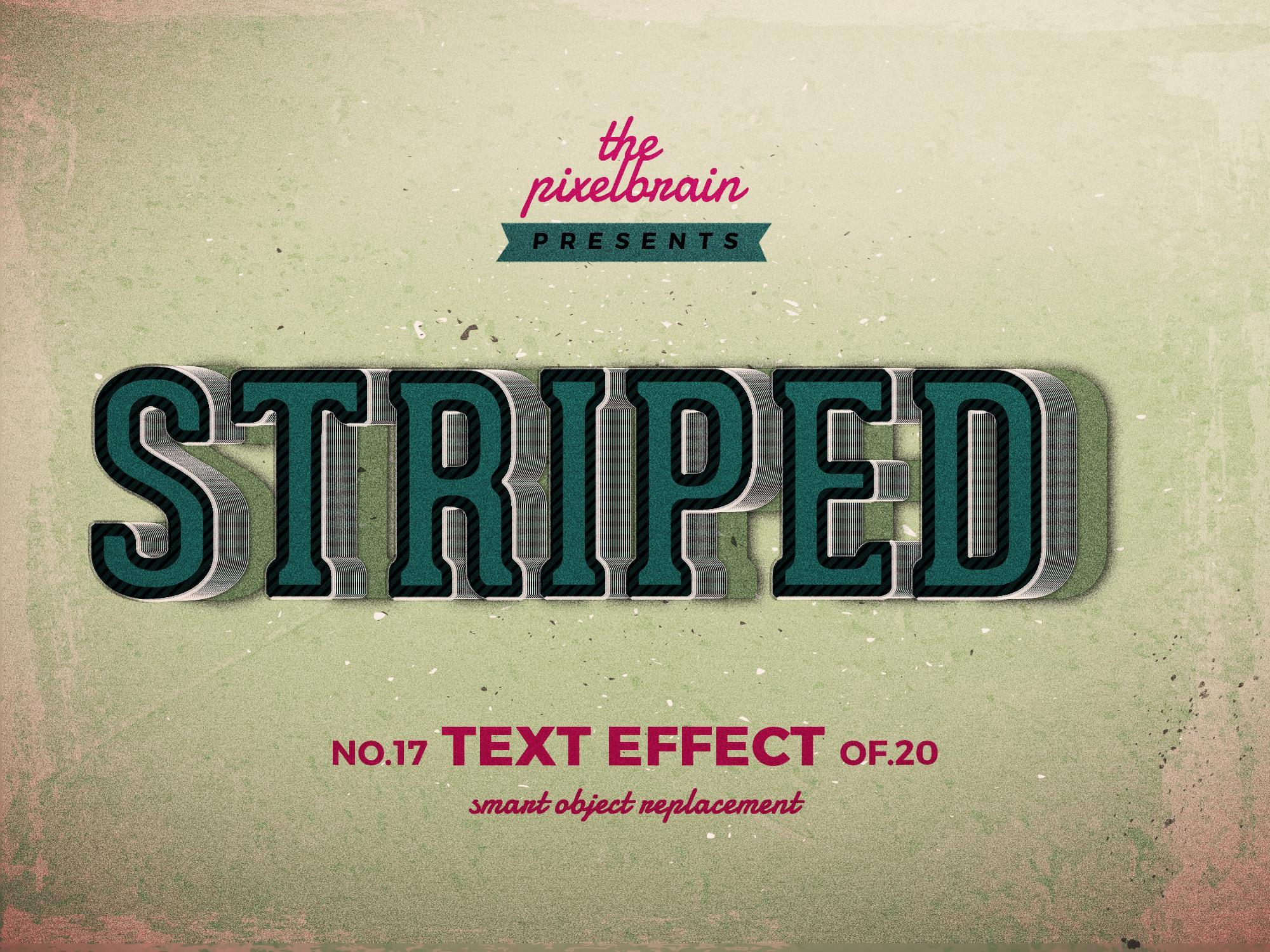 Chia sẻ bộ Retro Vintage Text Effects 7