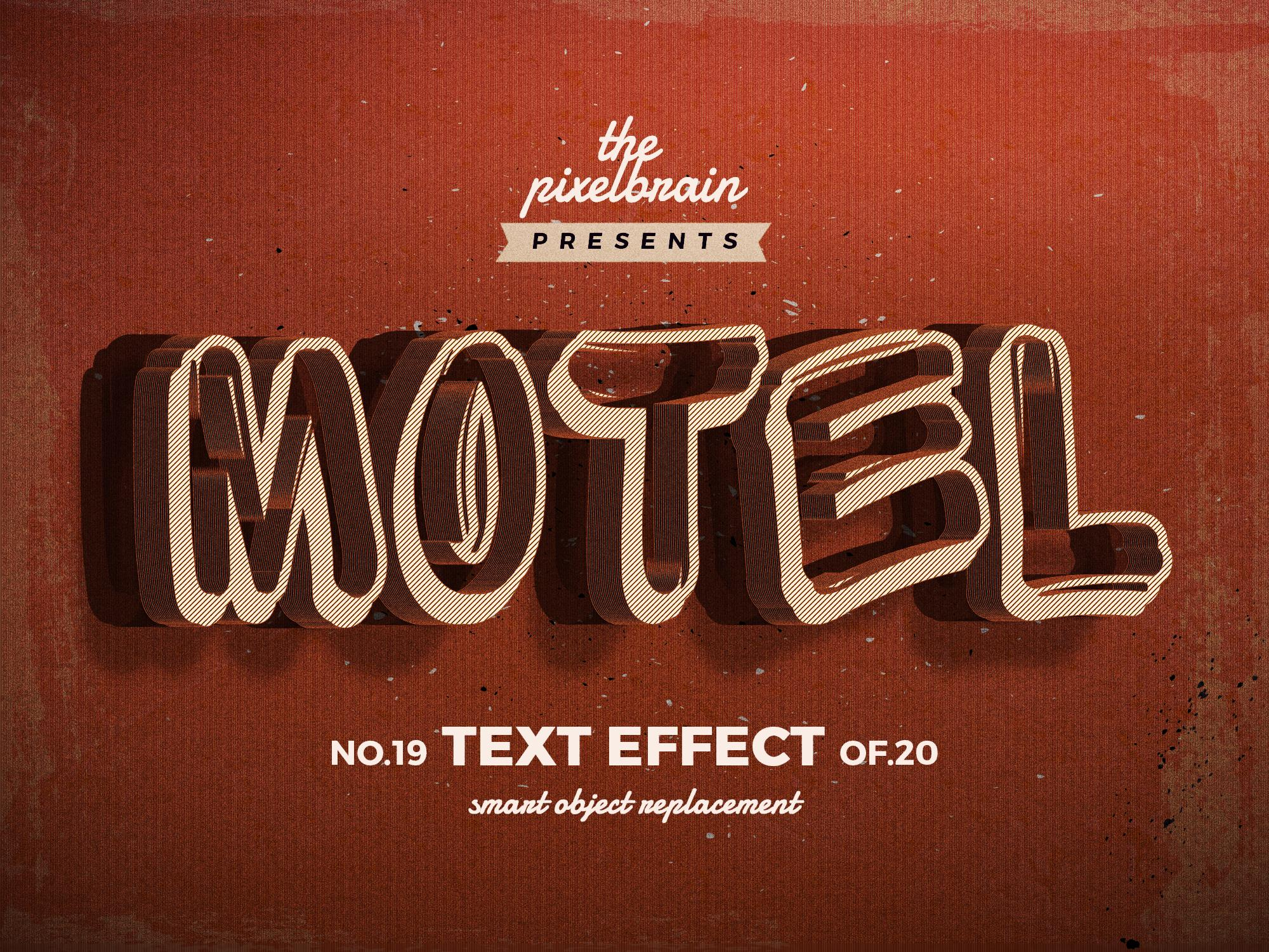 Chia sẻ bộ Retro Vintage Text Effects 9