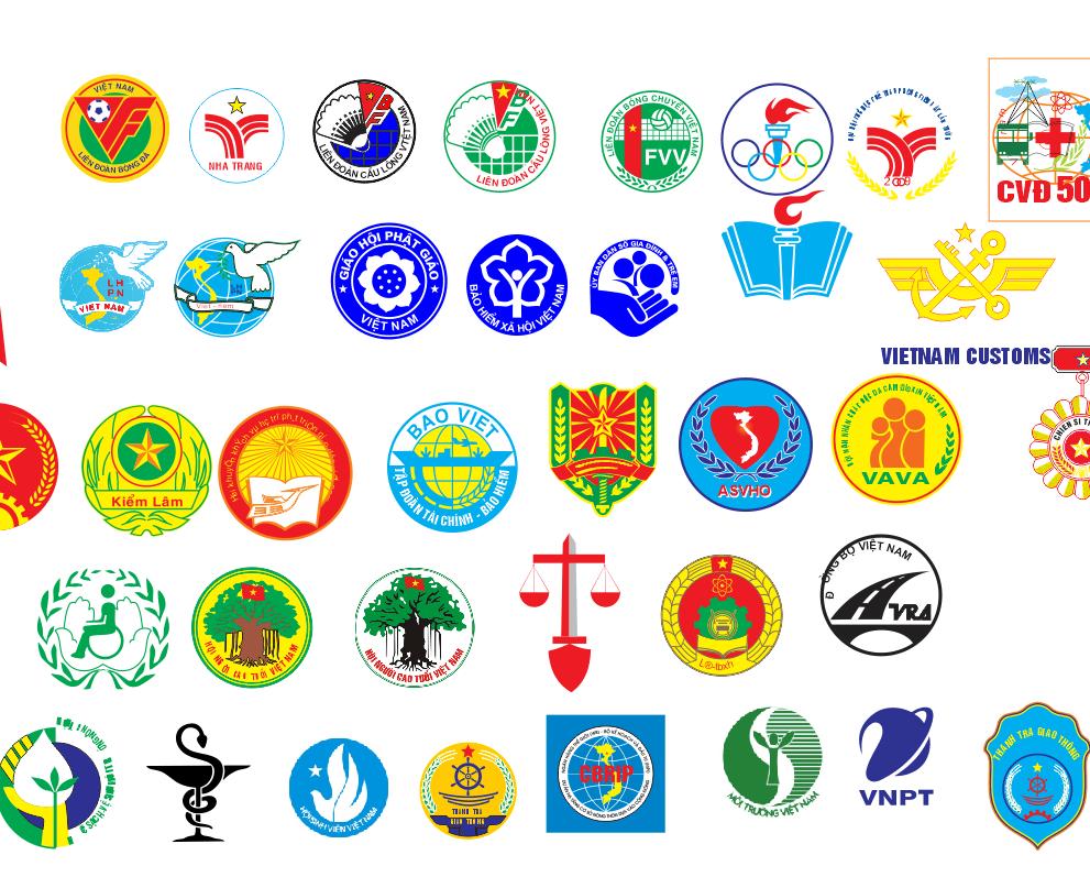 Bộ siêu tập file Vector logo khối nhà nước CorelDRAW 3