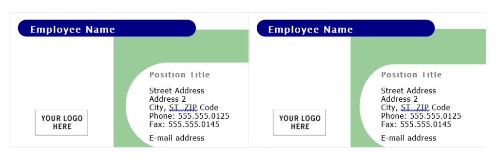 Hướng dẫn Thiết kế Name Card bằng Word - hình số 1